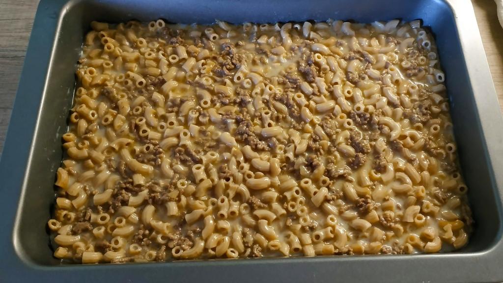 macaroni casserole finland