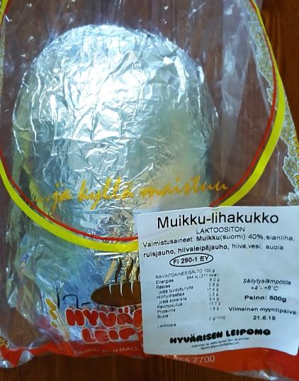 Bollo tipico finlandes de pescado