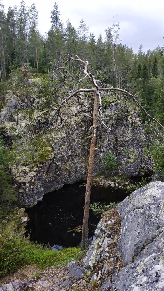 Hiisi demon in Finland park