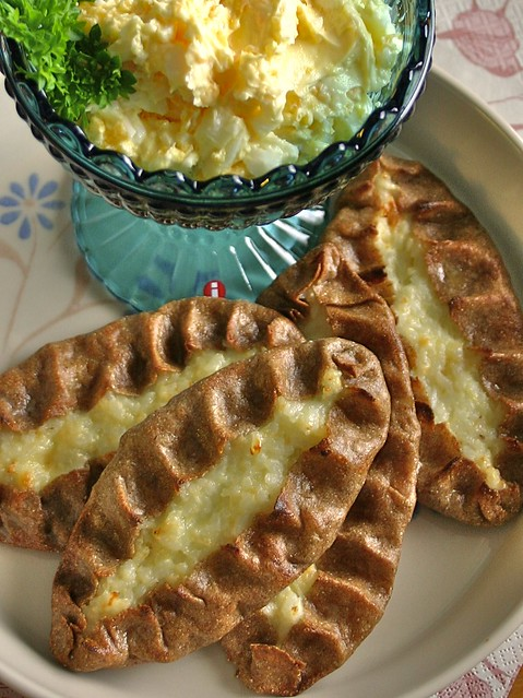 karelian pies with egg and butter