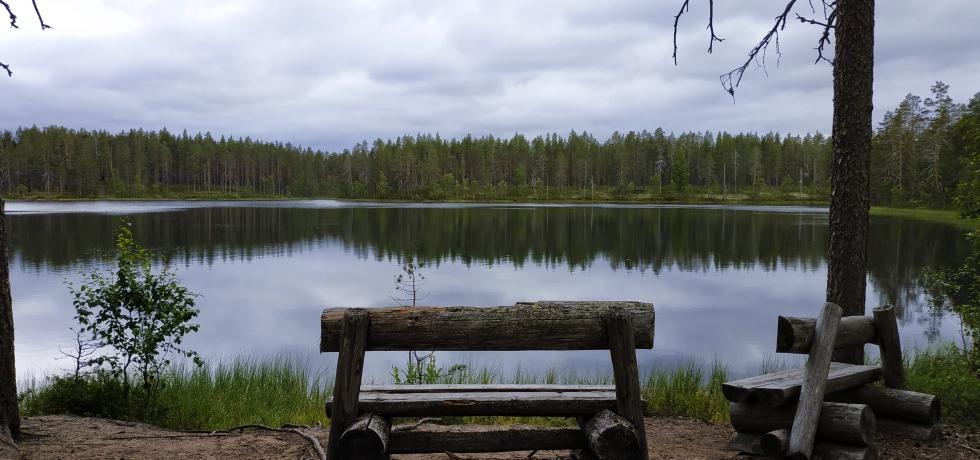 geoparque de rokua finlandia