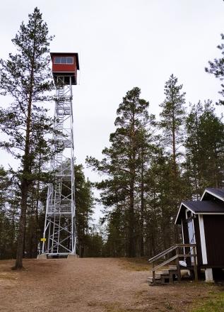geopark rokua cabin