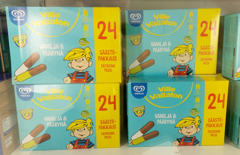 ice cream box finland supermarket