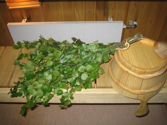sauna ramas de abedul