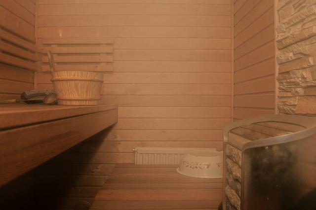 sauna cabaña finlandesa