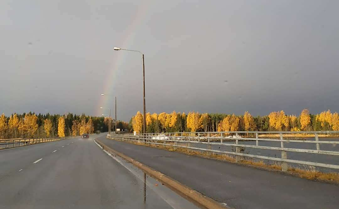 puente al archipielago kvarken en finlandia